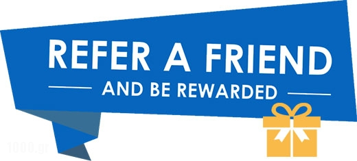Refer friends and get rewarded_Tourist guide, catalog and travel guide, catalogue in Greece_1000.gr